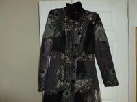 Very unusual ladies coat size 10/12