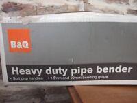 B&Q Pipe Bender