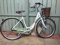 Raleigh caprice shopper bike paid £380 used once