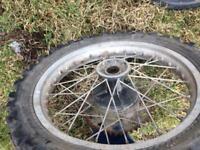 Motocross wheels 250cc