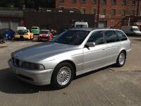 BMW 525D ESTATE * AUTOMATIC * 12 MONTHS MOT * FULL LEATHER * DRIVES GORGEOUS