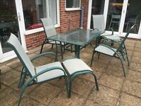 Chester Patio Furniture Set from Makro