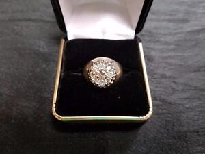 14K Diamond 1.3ct Ring