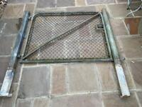 Metal gate and posts