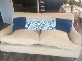 Two matching sofas