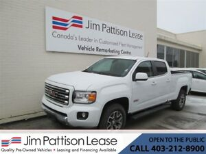 2017 GMC Canyon 3.6L SLE All Terrian LOW KM 4X4 Crew Cab LOADED!