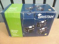 Bristan ST PUMP20TN 2 Bar Twin Ended Shower Pump - unused