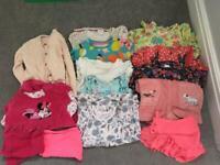 Baby girl bundle 12-18 months H&M M&S