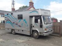 Iveco Ford Cargo 813 Compact Horse Lorry