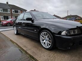 BMW 18 inch alloy wheels (possibly with tyres) - BMW E39 or E60 offset (will fit other BMWs)