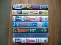 Thunderbirds, Stingray and Captain Scarlet episodes on VHS Video