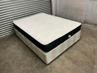FREE DELIVERY DIVAN DOUBLE BED & MATTRESS GOOD CONDITION