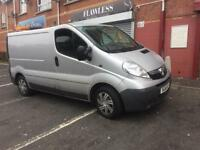 Vauxhall vivaro 115 bhp- Psvd to January 2019,