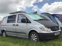 Mercedes Vito Camper (2006) With Extras
