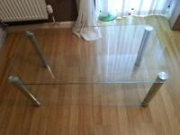 glass tea table , very good condition reason for sale moving home