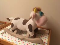 Toy cow rocker