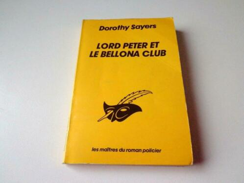 Lord Peter et le Bellona Club – Dorothy Sayers