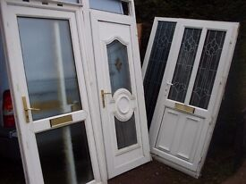 Upvc door ideal for garage or outhouse in dunscroft for Upvc french doors yorkshire