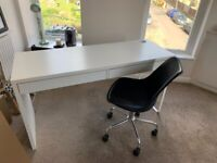 IKEA OFFICE DESK AND HABITAT CHAIR FOR SALE