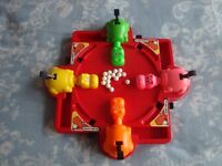 Retro Hungry Hippos 1980s