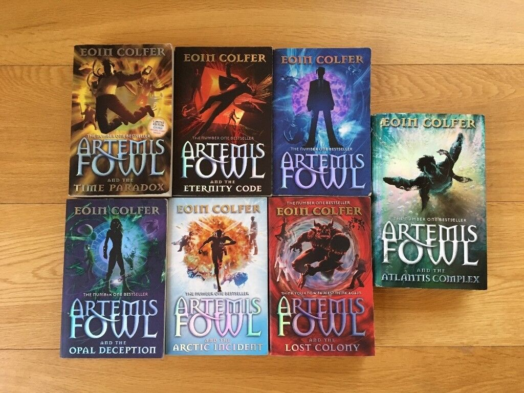Artemis Fowl 7 Book Series By Eoin Colfer In Very Good Condition 6