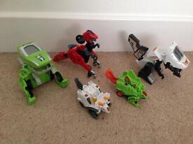 Vtech dinosaur/car transformers