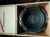 "Audiobahn 12"" subs+ inphase amp"