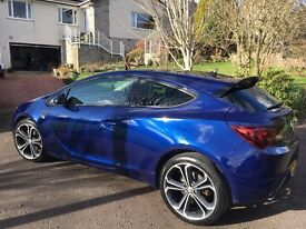 Astra GTC Limited Edition 1.4 Turbo 140bhp 64 Plate Buzz Blue