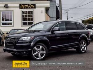 2014 Audi Q7 Technik Sline Package