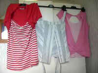 LADIES SIZE 14, BRAND NEW CLOTHING, APPROXIMATELY 40 VARIOUS ITEMS, PLUS GENTS BRAND NEW CLOTHING