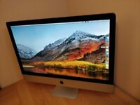 iMac 27 - 3.4Ghz i7 - 12GB Ram - 1TB HDD - 2GB AMD Radeon Graphics (Like new)