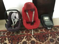 Maxi Cosi Pebble and Pearl plus isofix family fix base