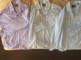 Moss Bros Shirts 17.5 Collar