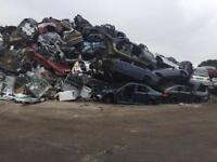 SCRAP CARS AND VANS WANTED MOT FAILURES NON RUNNERS CASH PAID FOR YOUR UNWANTED MOTORS! SCRAP MY CAR