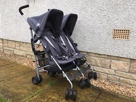 Maclaren Twin Stroller as new