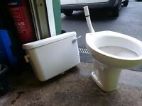 Toilet and sistern Low level 18 months old Like new