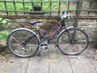 Ladies Hybrid Bike Claude Butler Urban 400