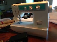 REDUCED TO CLEAR - Brother Sewing Machine - used 2-3 times - nearly new