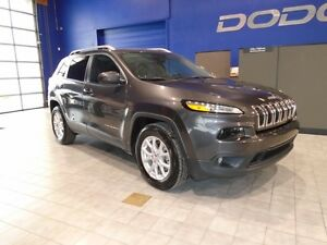 2016 Jeep Cherokee TRUE NORTH 4X4 W/LEATHER, SUNROOF, V6