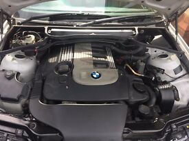 BMW E46 330D M SPORT Automatic Silver 2 KEYS 10 MONTHS MOT low millage Service history