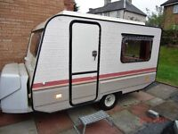 RAPIDO 2 BERTH SMALL CARAVAN