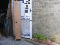 Vintage Metal Locker/Gun cabinet for sale