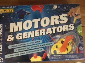 Motors and generators 8+