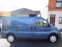 NO VAT! Vauxhall Vivaro 1.9Di 2700 SWB with rare twin side loading doors MOT trafic traffic (1)