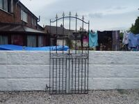 Wrought iron gate / garden gate / metal gate / steel gate / entry gate / side gate / house gate