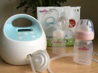 Spectra S1 Double Electric Breast Pump with Rechargeable Battery