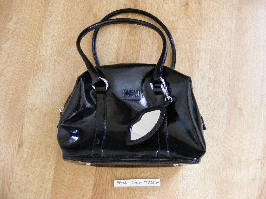 Black Lulu Guinness Bag Never Used