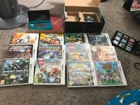 Nintendo 3ds with box and 12 games!
