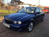 Jaguar x type 2.5 sport on 2003 reg Qiuck sale