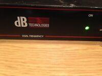DB Technologies Wireless transmitter IEM Dual Frequency